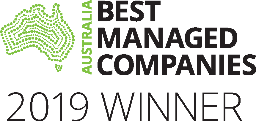 AUSTRALIAS BEST MANAGED COMPANY WINNER